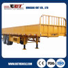 80ton Capacity Bulk Cargo Semi Trailer with Sidewalls