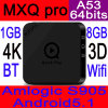 Android TV Boxes Amlogic S905 A53 64bits Processor