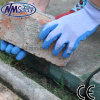 Nmsafety Blue Latex Palm Coated Safe Work Gloves