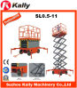 Mobile Hydraulic Scissor Lifting Platform for Outdoor Use (SL0.5-11)