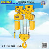 15ton Japan Type Electric Chain Hoist with Electric Trolley