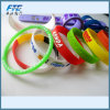 Silicone Slap Wristband Custom Your Logo on 100%