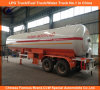 Heavy Duty 40.5cbm LPG Gas Tanker Trailers 20mt for Central Asia Market