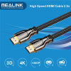 HDMI Cable 2.0 with Gold Plated Supports Ethernet 2160p 18gbps, 3D 1.4 4k