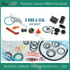 Silicone Rubber Products Silicone and Colorful Soft O-Rings