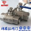 Two Piece DIN M3 Thread Ball Valve