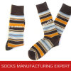 Men′s Wool Pattern Sock