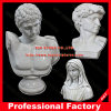 White Marble Hand Carved Bust Statue