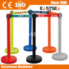 Retractable Belt Queue Barrier System Plastic Retractable Belt Post