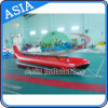Inflatable Towable Red Shark Boat for Water Games, Banana Boat