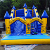 Commercial Giant Inflatable Bouncy Castle Slide