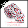 Handmade Cotton Printed Fashion Floral Tie Mens