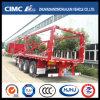 Cimc Huajun 3axle Cargo Stake Trailer (SKD FORM)