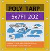 5ftx7FT 2 Oz 2-3mil Lightweight Polyethylene Tarpaulin Tarp