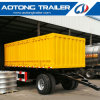 2 Axle Tractor Haul Cargo Carrier Full Trailer for Sale