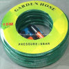 PVC Flexible Reinforced Fiber Braided Water Garden Hose 1/2""