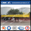 Cimc Huajun 2axle Lightweight Fence Trailer with 600mm Side Wall