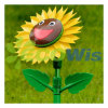 Smiling Spinning Sunflower Sprinkler (HT1024M)