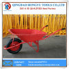 5FT Metal Tray Wheel Barrow for Construction