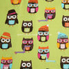 100%Cotton Flannel Fabric for Pajamas with Cartoon Printed (20X10/40X42)