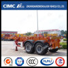 Cimc Huajun 20FT 2axle Skeleton Container Semi-Trailer