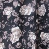 30s Printe Rayon Fabric with Rose Flower for Women Clothing