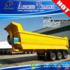 2/3 Axis Hydraulic Cylinder U Shape Dumping Truck Trailers