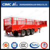 Gooseneck Type One-Group-Stake (1000mm) Semi Trailer with Single Tire