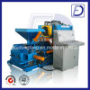 Horizontal Briquetting Press Briquette Wood Sawdust Chips