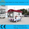 Professional Custom Built Food Trailers with Business Window on Four Sides