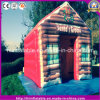 Hot Christmas Ornament Inflatable Painting House