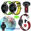 IP66 Waterproof Round Screen Bracelet with 120 mAh Battery Dm58