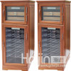 Semiconductor Solid Wood Wine Barrel / Wine Display Cellar (WTC-28X)