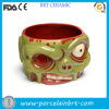 Personalized Zombie Design Customized Bowl