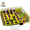 Top Large Amusement Indoor Bungee Trampolines with Basketball Hoops (TY-17726)