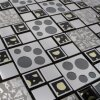 300X300mm Popular Design Metalic Mosaic
