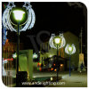2D LED Pole Motif Street Christmas Decoration Light