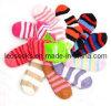 Women′s Romatic Stripe Cozy Socks