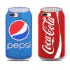Hot Funny Coke Soft Silicone Phone Case for iPhone 6/6s/7/7plus