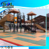 CE Certificated Playground Safety Floor Rubber Tile
