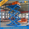 Hydraulic Stationary Scissor Cargo Lifter with Ce