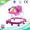 Popular Wholesale Plastic Wheels Musical Baby Walker for Sale