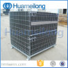 Collapsible Metal Cargo Storage Cage for Warehouse