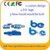 Custom 3D 2D PVC USB Flash Pen Drive for Branding