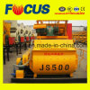 500L Twin Shaft Compulsory Electric Concrete Mixer with Ce ISO SGS Certificate