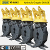 Hydraulic Excavator Log Wood Grapple with CE Certification