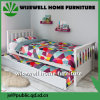 Pine Wood Pull out Trundle Bed Spacesaver Bed