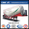 50cbm Cimc Huajun Banana-Type Bulk Cement Tanker with Air Compressor