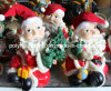 Polyresin/Polystone/Resin Santa Claus with Cloth Hat