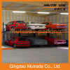 Hot Sale Ce Two Post Hydraulic Automatic Car Stacker